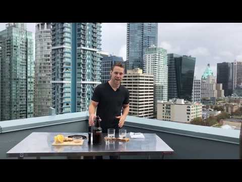 Kombucha Cocktail Whiskey Sour | Fermentation and Fitness | Jesse Dow