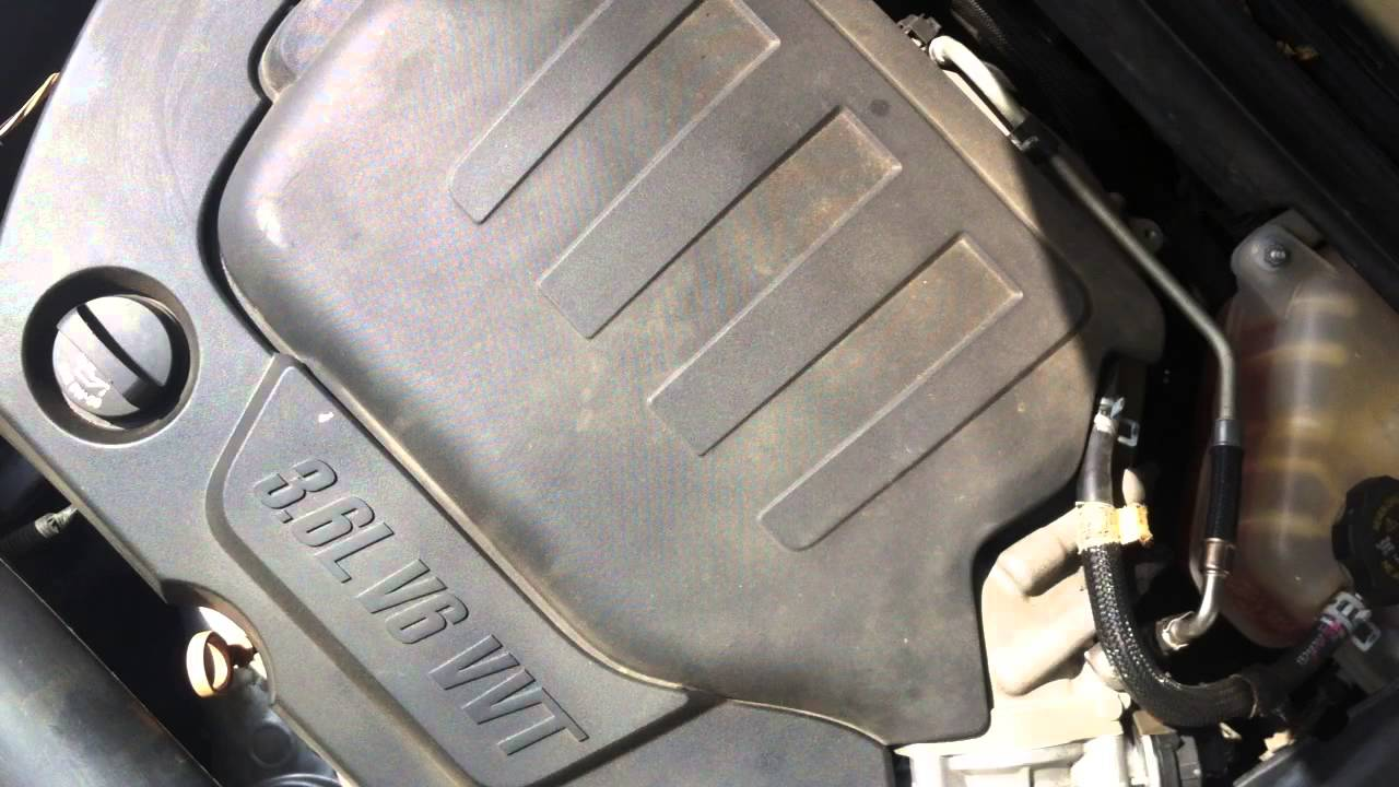 2010 Chevy Malibu 3 6l V6 Ly7 Cold Engine Start Up Youtube