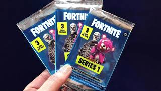 Ouverture du pack de cartes Fortnite (x3)