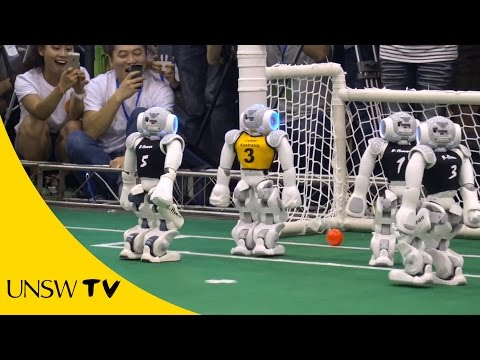 All hail UNSW's robot soccer world champions!