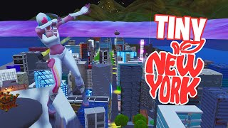 New York City, mas é minúsculo-Fortnite Creative com código!