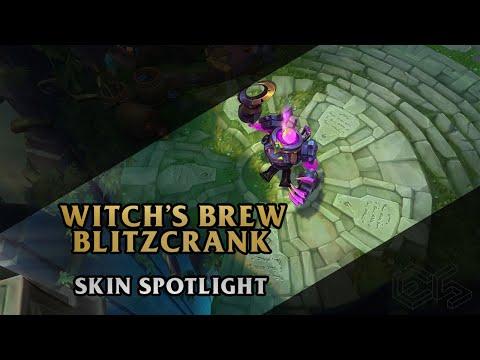 ► Witch's Brew Blitzcrank ◀ League of Legends ▂ Skin Spotlight
