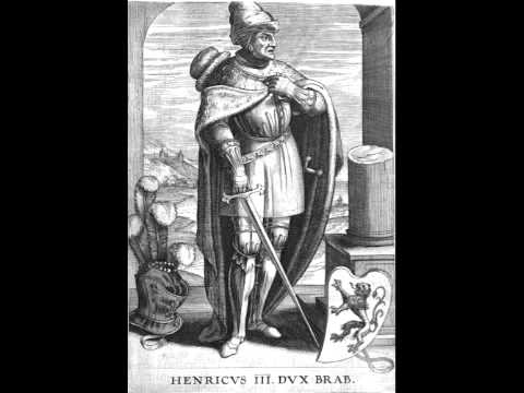 Henry III of Brabant: Amors m'est u cuer entree