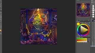 lil aaron - All I Need (feat. Goody Grace) [Prod. Travis Barker] Album Art Speedpaint