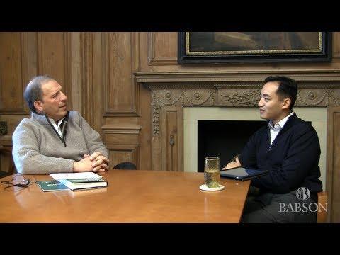 Entrepreneurship education: Rob Go - Leonard Schlesinger Interview