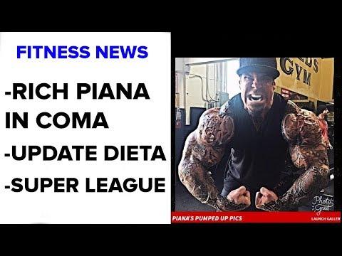 Rich Piana in Coma | Super League | Fitness News