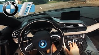First Person Drive | BMW i8 Roadster | Sound Test + Electric Drive