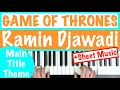How To Play GAME OF THRONES Main Title Theme Ramin Djawadi Piano Tutorial Sheet Music mp3