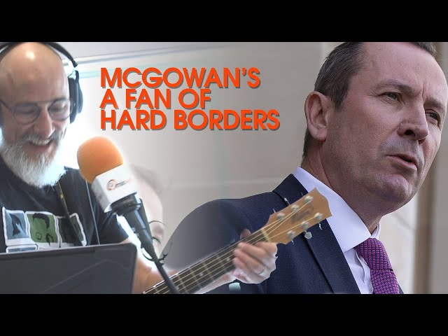 McGowan's A Fan Of Hard Borders: The Kevin Bloody Wilson Inspired Song By Matt | mix94.5