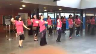Shimmy Mob 2016 - Surrey Tricities & New West together...