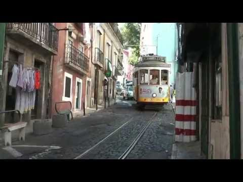 The famous tramway 28 in Lisbon