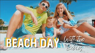 A *beach* Day In The Life // TEEN MOM OF 2
