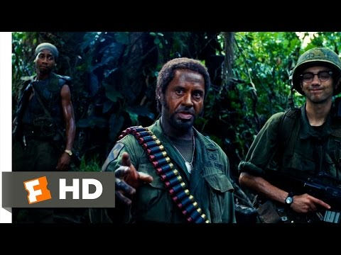 Tropic Thunder (6/10) Movie CLIP - What Do You Mean, You People? (2008) HD