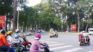 Moto CSGT gặp vấn đề gì khi dẫn đoàn khiến họ ngoái đầu nhìn? Cambodian VIP convoy in action
