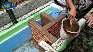 Cara Membuat Saluran Sirkulasi Filter Kolam Ikan