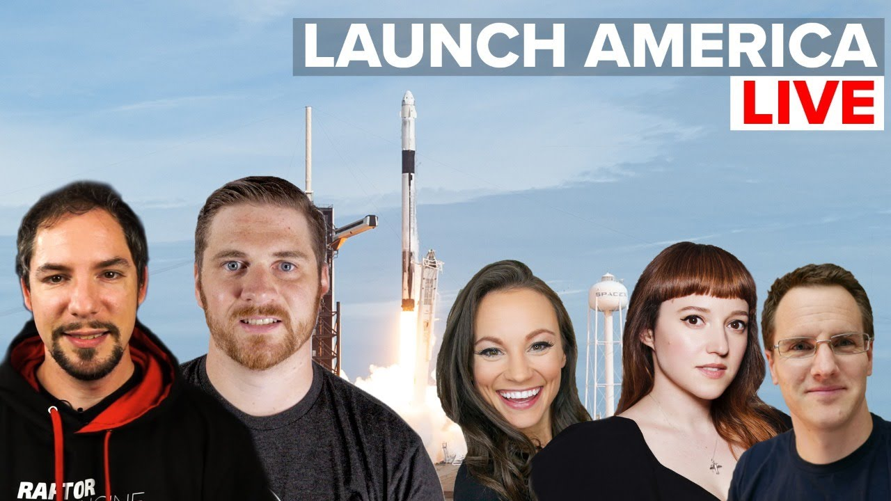 Launch America Live Stream with Special Guests!