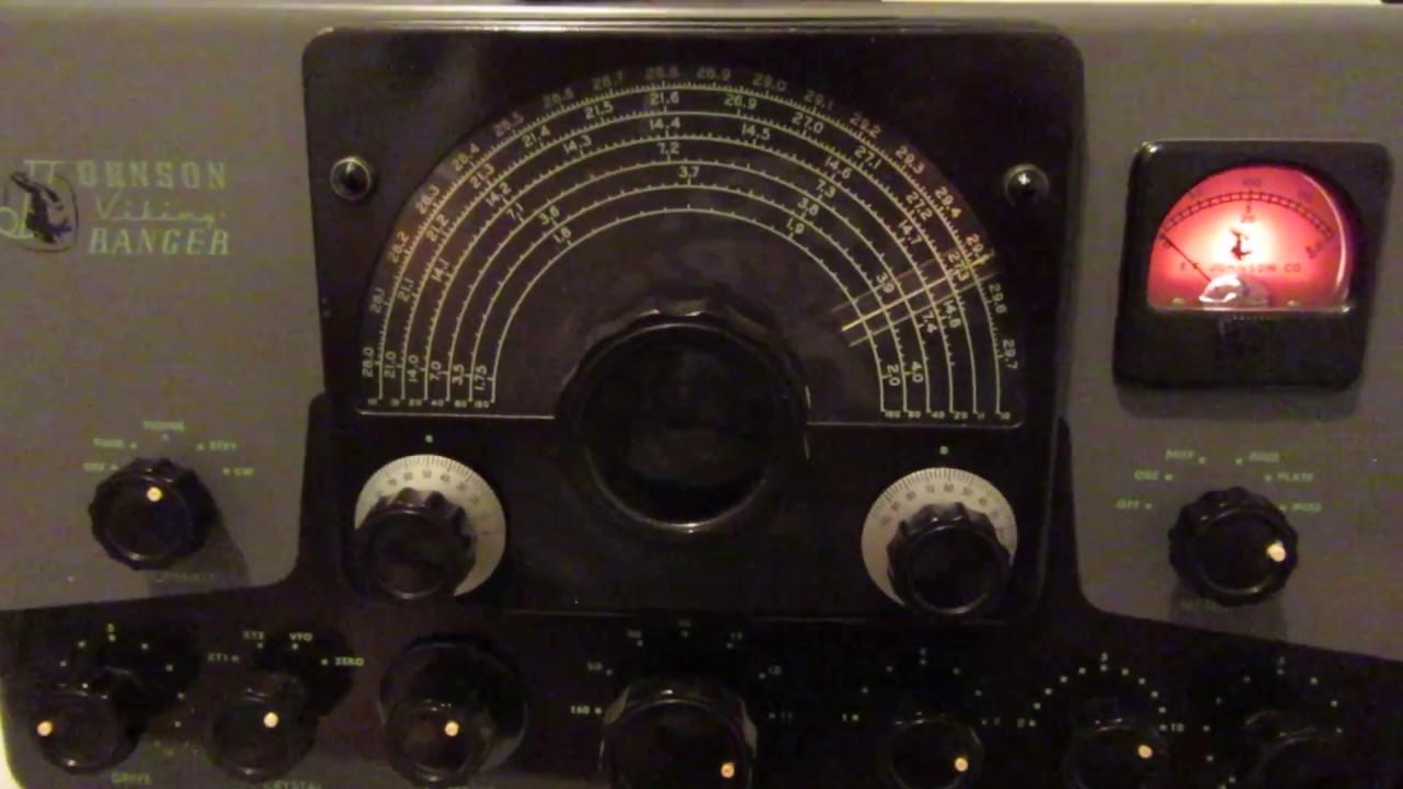 Ef Johnson Viking Ranger Am Transmitter  Tested By Me  A