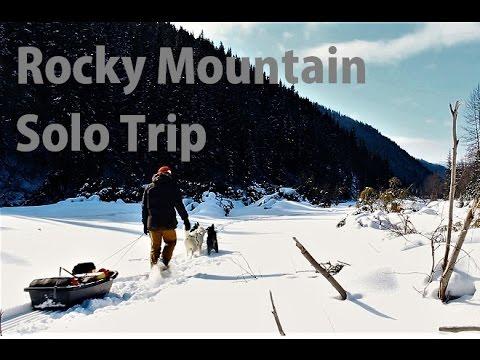 Rocky Mountain Winter - 3 Day Solo