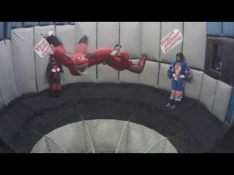 Indoor Skydiving - Axiom Team