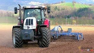 Traktory na polích | Jaro 2019 | Fendt, John Deere, Case IH, Steyr, New Holland