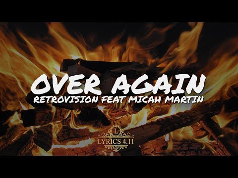 RetroVision - Over Again (feat. Micah Martin) [Lyrics Video] // Non Copyrighted #EpicBeats