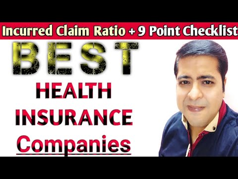 Best Health Insurance Company In India || Best Mediclaim Policy In India: {IN HINDI}