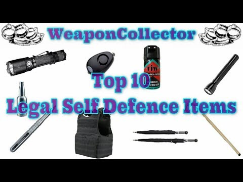 Top 10 Legal Self Defence Items