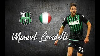 Manuel Locatelli ● Skills , Long Passes , Assists ●│2018 - 2019│►HD