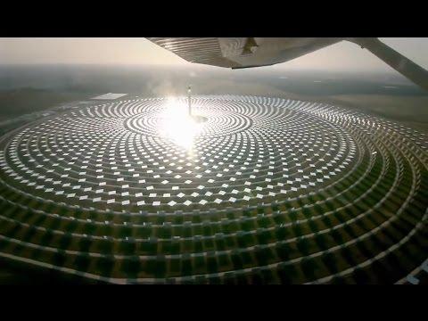 Gemasolar, concentrated solar thermal power plant plus molten salt storage CSP+ by Terresol