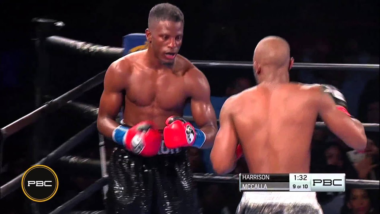 Harrison vs. McCalla HIGHLIGHTS: Oct. 31, 2015 - PBC on NBCSN