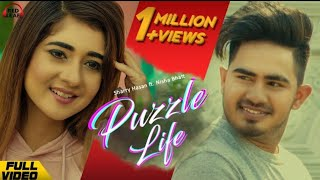 Meri zindagi ch sohneya Ve tera adho vadh hissa peh gya Full Video Song PUZZLE LIFE  | Sharry Hassan