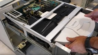 Xerox Alto Restoration Part 1 - power supply restoration, disk drive surprise