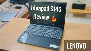 Lenovo IdeaPad S145 15.6-inch FHD Laptop (10th Gen CORE I5-1035G4/8GB/1TB HDD Review and Unboxing