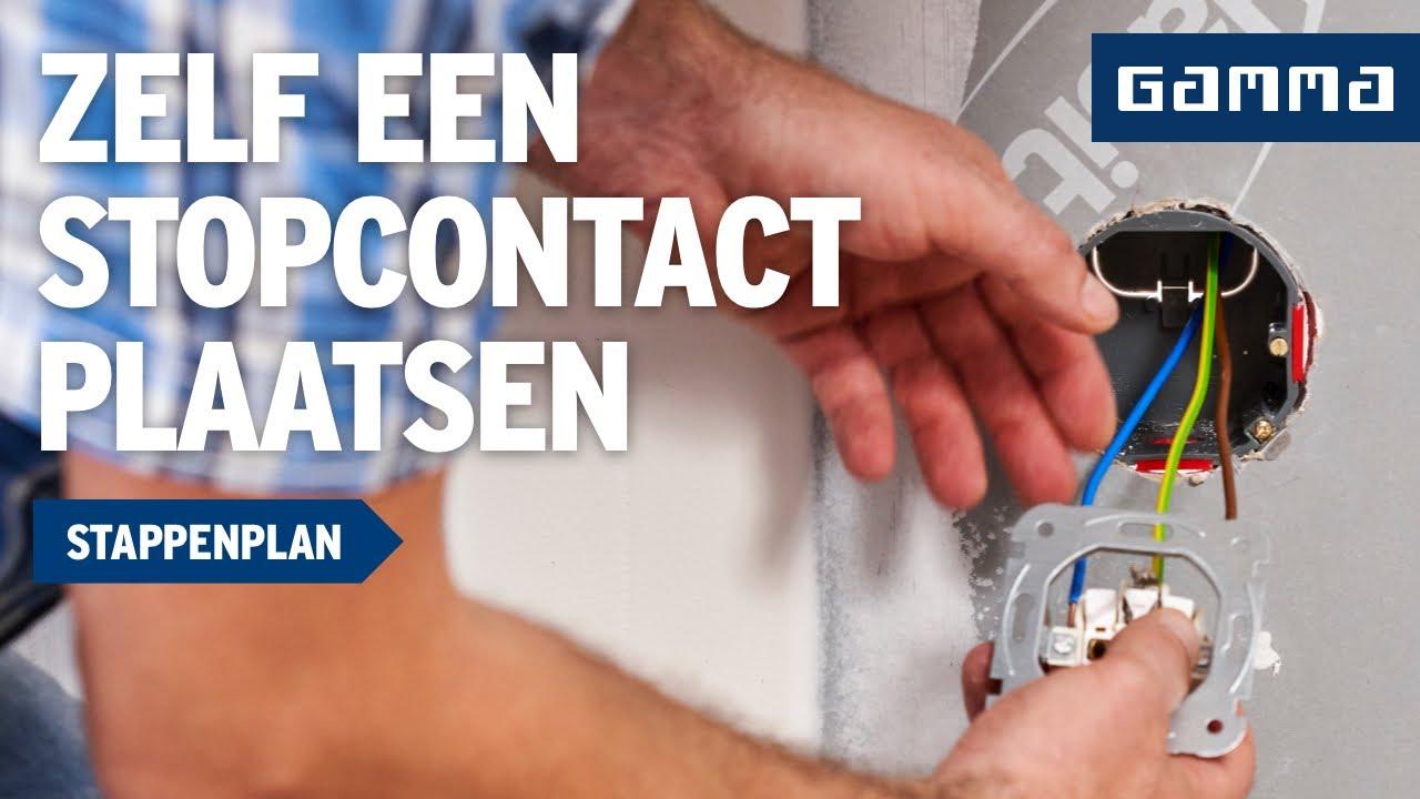 Stopcontact Keuken Aanleggen : Stopcontact plaatsen in Keuken – Elektriciteit – Klustips GAMMA