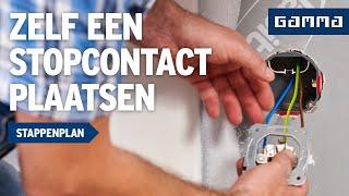 Stopcontact plaatsen in Keuken - Elektriciteit  - Klustips | GAMMA België