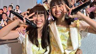 20180801 BNK48 MUSIC(แพรวา สุธรรมพงษ์)推し席 撮影可能タイム(松岡はな&日高優月も登場) AKB48グループ感謝祭 in横浜アリーナ