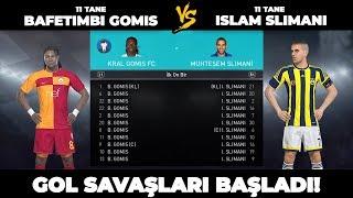 11 TANE İSLAM SLİMANİ vs 11 TANE BAFETIMBI GOMIS - PES 2018 REKABET MAÇI