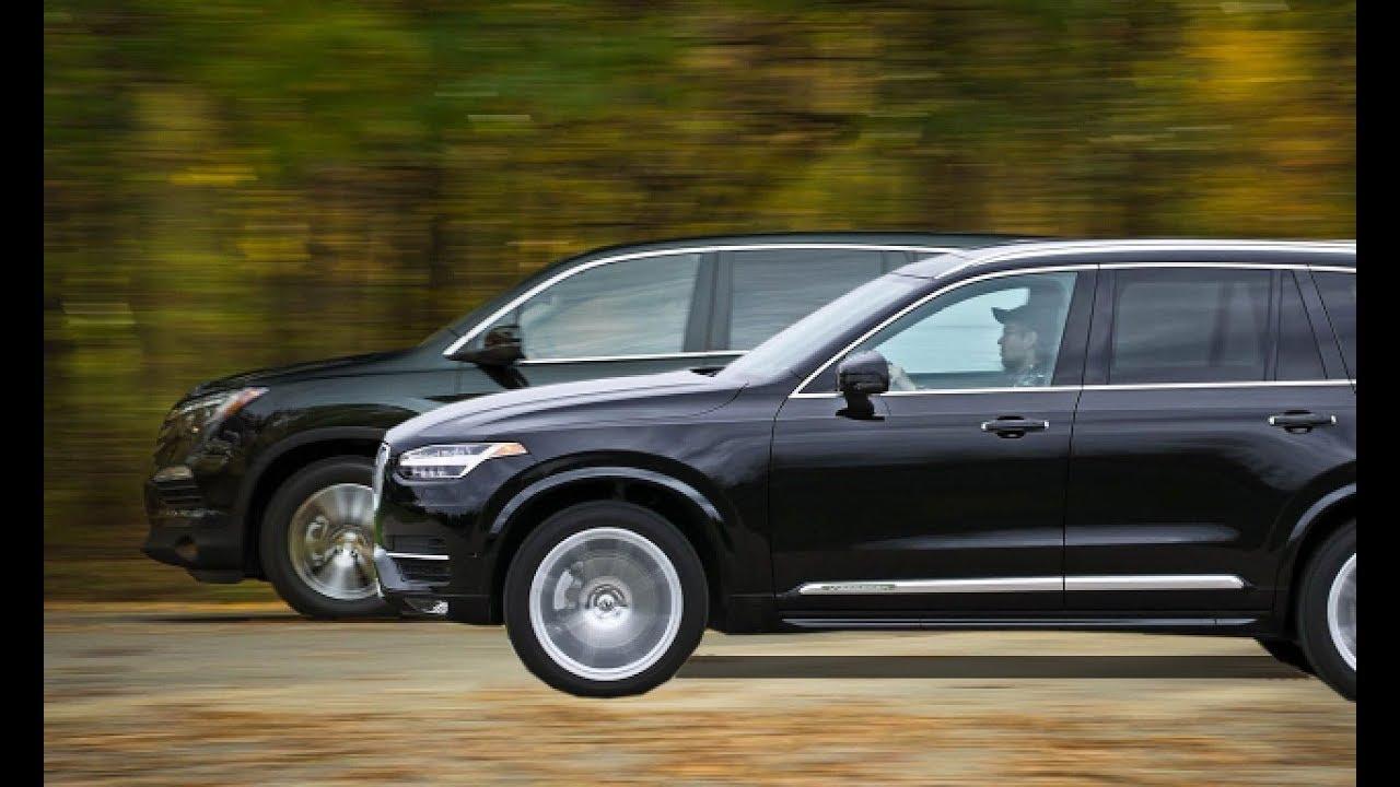 2018 Volvo Xc90 3 Row Seat Vs 2017 Honda Pilot