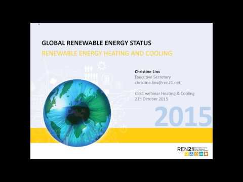 REN21 Renewables 2015 Global Status Report: Heating and Cooling