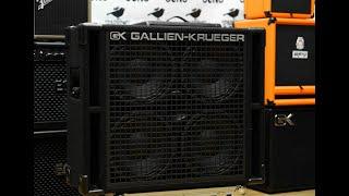Gallien Krueger 410RBH Unboxing!