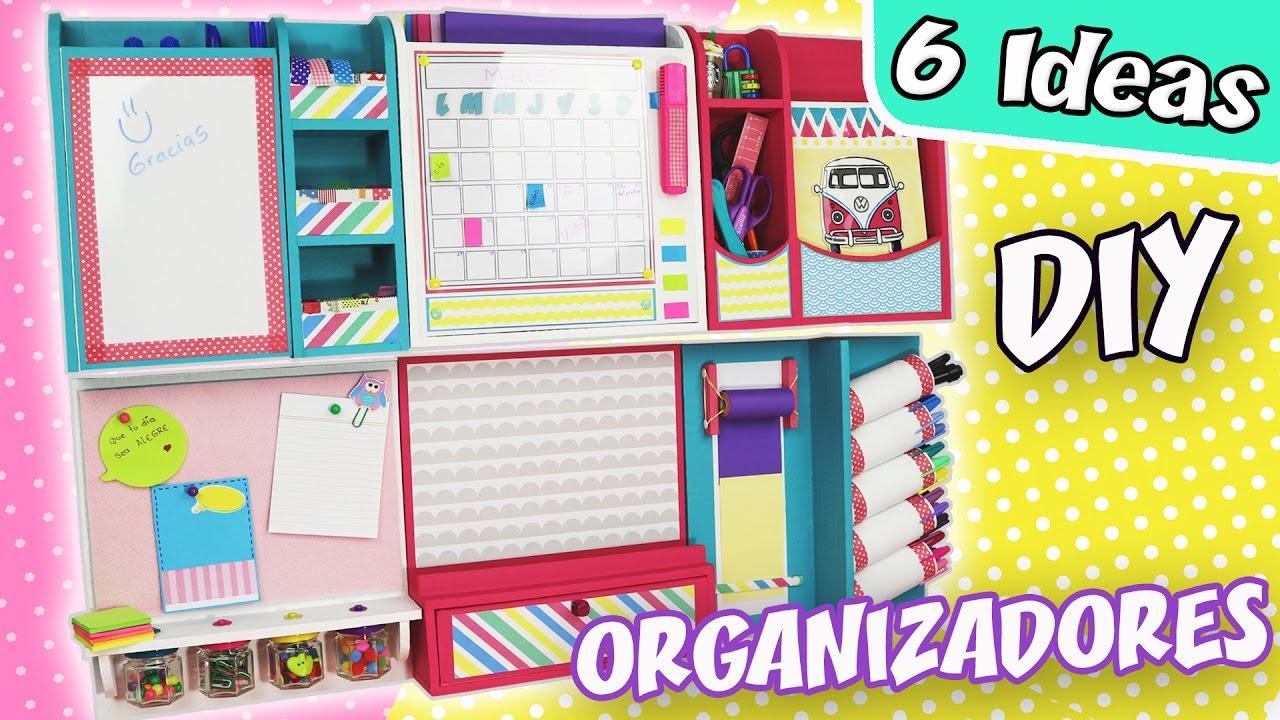 6 ideas de organizadores de escritorio para la pared - Organizador escritorio ...