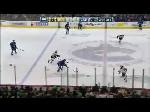 13.02.2015 Boston Bruins vs. Vancouver Canucks