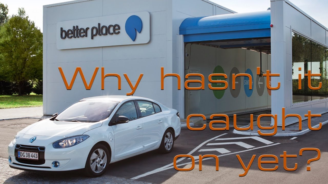 Why Hasn't Battery Swapping For Electric Cars Caught On Yet?