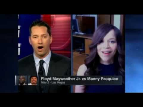 Manny Pacquiao Vs Floyd Mayweather News | ESPN Making Ther Round | Rosie Perez Interview