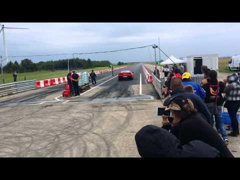 Duel de corvette  C3 vs C7 à  Clastres