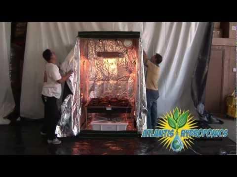 Viagrow™ Hydroponic Grow Room Kit Setup