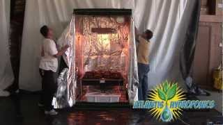 Viagrow™ Hydroponic Grow Room Kit Setup(Atlantis Hydroponics™ proudly sells Viagrow™ Grow Room Tents and Complete Grow Room Set Ups. Watch this instructional video on how to set up a ..., 2012-05-25T15:02:32.000Z)