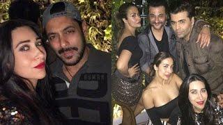 "Malaika Arora ,Arbaaz Khan Attend Sohail's Wife ""Seema Khan's Birthday Bash"""