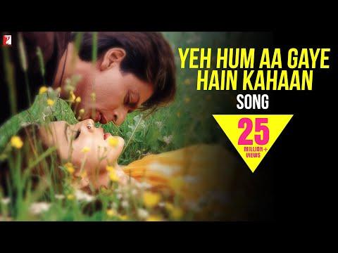 Yeh Hum Aa Gaye Hain Kahaan - Full Song | Veer-Zaara | Shah Rukh Khan | Preity Zinta | Lata | Udit