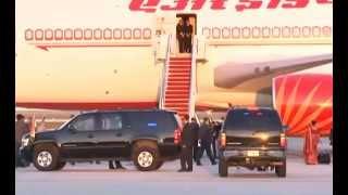 PM Narendra Modi's Departure from Washington DC to India
